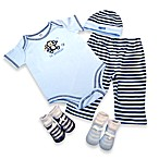 AD Sutton Lil Monkey 5-Piece Layette Set