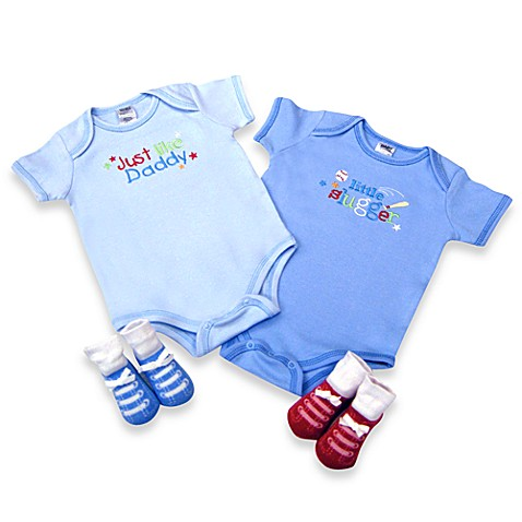AD Sutton Just Like Daddy 4-Piece Layette Set