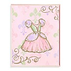 Wall Plaque in Pink Dress
