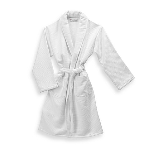 Elizabeth Arden™ The Spa Collection Cotton Unisex Waffle Weave Bathrobe