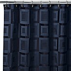 Croscill Metro Navy 70-Inch x 96-Inch Shower Curtain