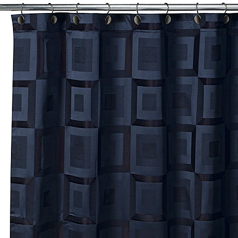 Croscill Metro Navy 70-Inch W x 84-Inch L Shower Curtain