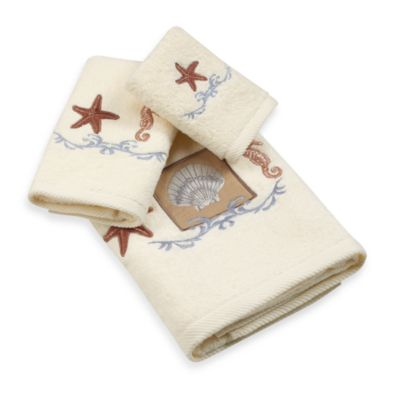 Ocean Shell Hand Towel