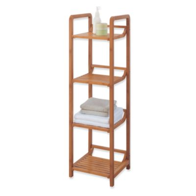 Neu Home Lohas 4-Tier Bamboo Floor Tower