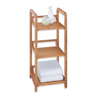 Neu Home Lohas 3-Tier Bamboo Floor Tower