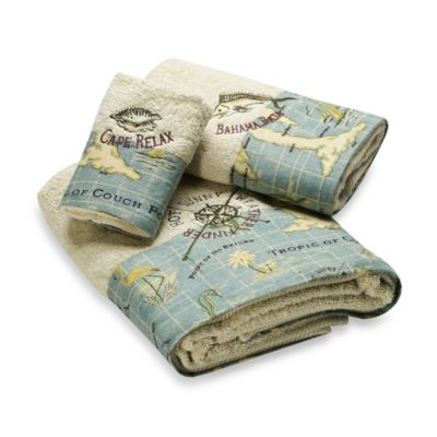 Buy Cotton Tropical Bath Towels From Bed Bath Amp Beyond