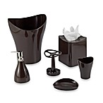 Umbra® Curvino Chocolate Bath Ensemble