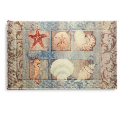 Sea Shell Bathroom Rugs