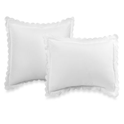 Vintage Chic™ Standard Scallop Sham in White