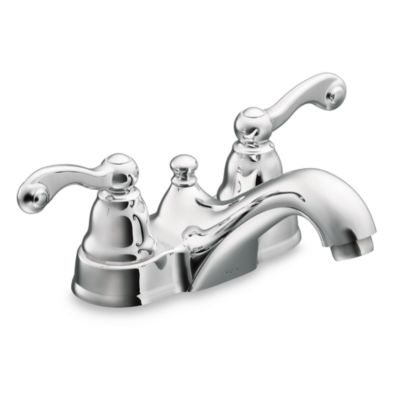 Moen® Traditional® 2-Handle Centerset Faucet in Chrome
