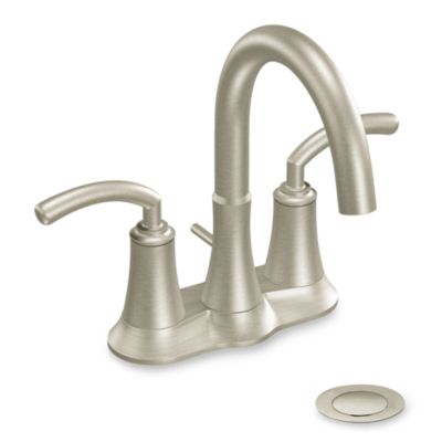 Moen® Icon™ Two-Handle Centerset Faucet in Brushed Nickel