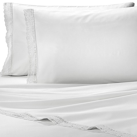 Belleza Victoria King Sheet Set in White