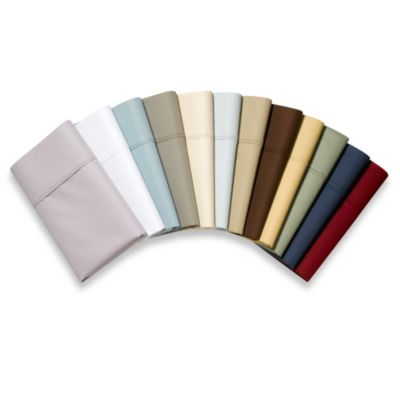 Plum Thread Count Cotton Sheets
