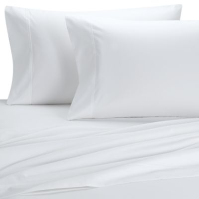 Palais Royale™ 630 Thread Count Standard Pillowcases in White (Set of 2)