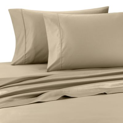 Palais Royale™ 630 Thread Count Queen Sheet Set in Canvas