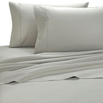 Palais Royale™ 630 Thread Count Standard Pillowcases in Stone (Set of 2)