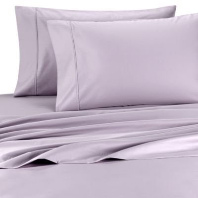 Palais Royale™ 630 Thread Count Queen Sheet Set in Plum