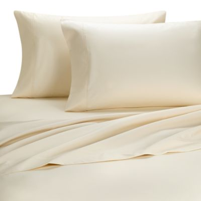 Palais Royale™ 630 Thread Count Queen Sheet Set in Ivory