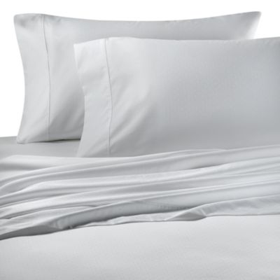 Palais Royale™ 630 Dot Standard Pillowcase in White Dot