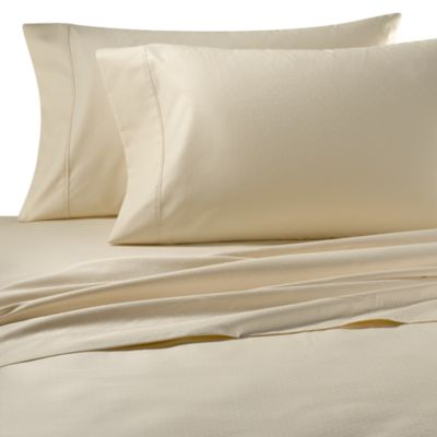 Palais Royale™ 630 Dot Queen Sheet Set in Ivory Dot