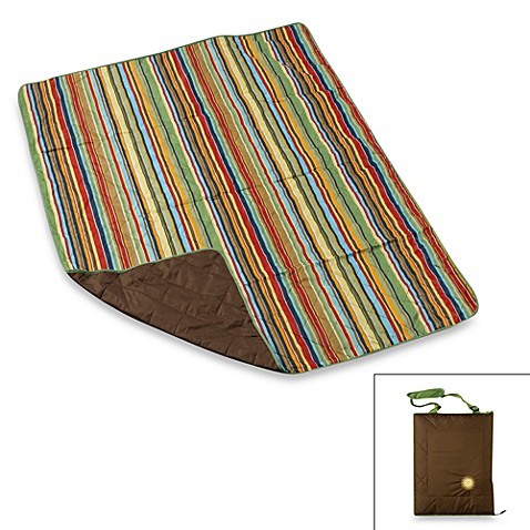 Indoor/Outdoor Travel Blanket in Chocolate
