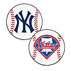 Major League Baseball 2-Foot 3-Inch Accent Rug