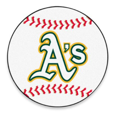"""A's"" 2-Foot 3-Inch Accent Rug"