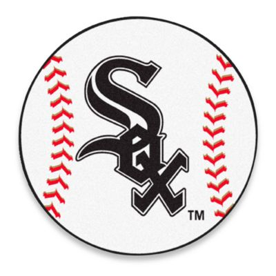 White Sox 27-Inch Accent Rug