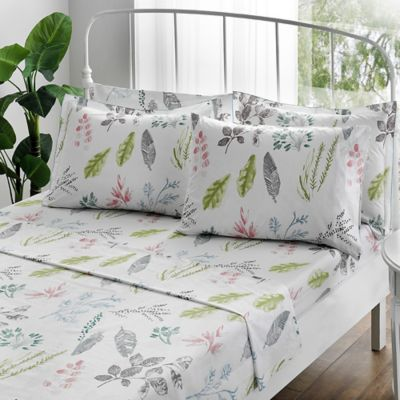 Brielle Gardenia Queen Sheet Set