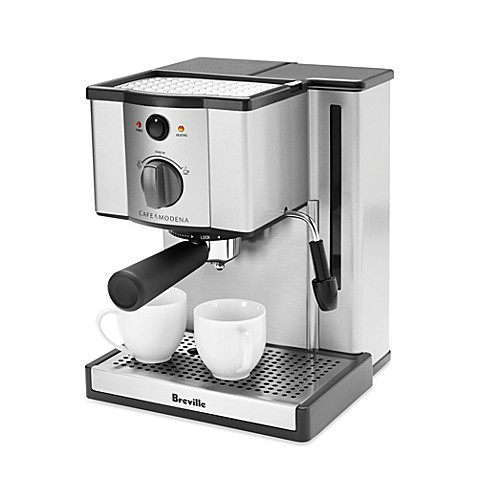 breville espresso machine bed bath and beyond