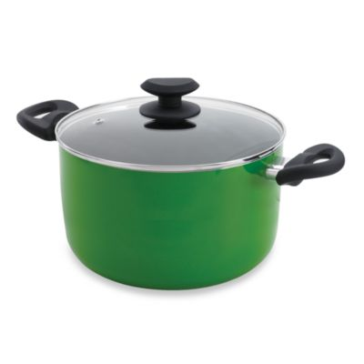 Ecolution™ Elements Green 8-Quart Stock Pot