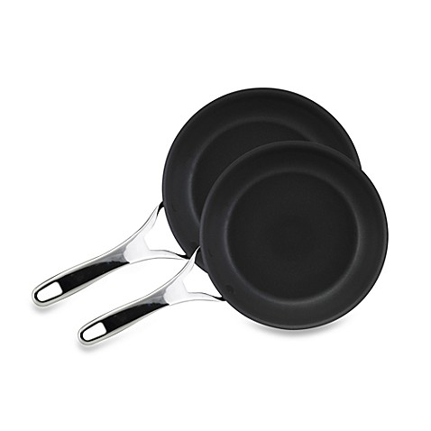 Anolon® Nouvelle Copper 8 1/2-Inch Fry Pan and 10-Inch Fry Pan Set