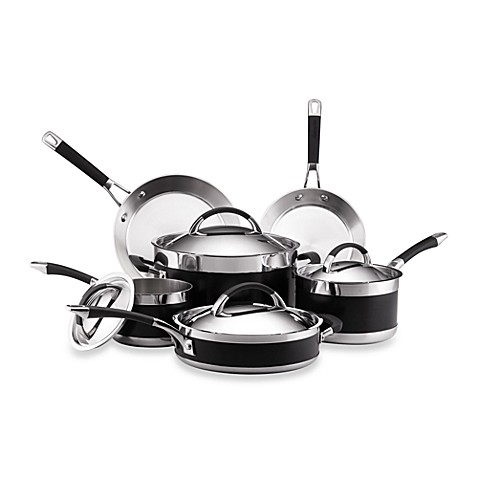 Anolon® Ultra Clad 10-Piece Cookware Set and Open Stock