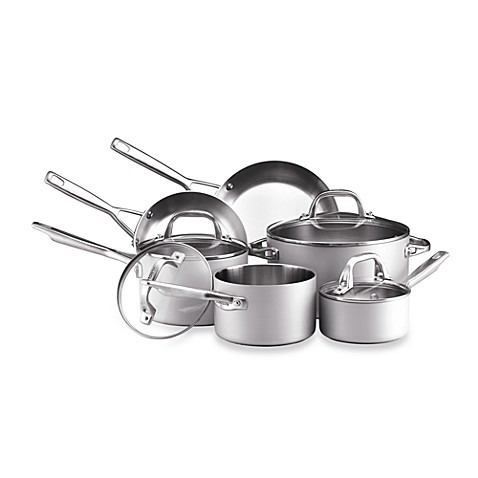 Anolon® Chef Clad 10-Piece Cookware Set