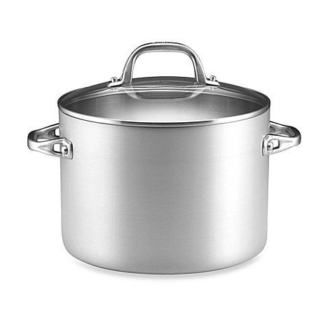 Anolon® Chef Clad 8-Quart Covered Stockpot
