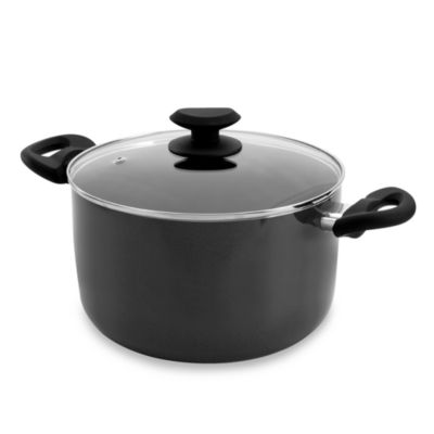 Ecolution™ Elements Grey 8-Quart Stock Pot