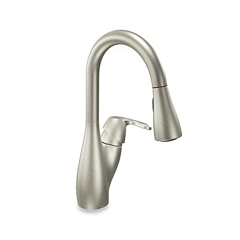 buy moen 174 medora pull out kitchen faucet in stainless