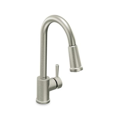 Moen® Level™ Pull Out Kitchen Faucet - Stainless Steel