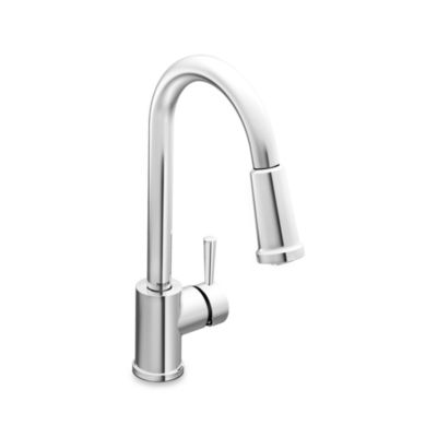 Moen® Level™ Pull Out Kitchen Faucet in Chrome