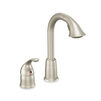Moen® Camerist™ Pull Out Bar One-Handle Kitchen Faucet in Stainless Steel