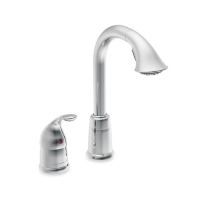 Moen® Camerist™ Pull Out Bar One-Handle Kitchen Faucet in Chrome