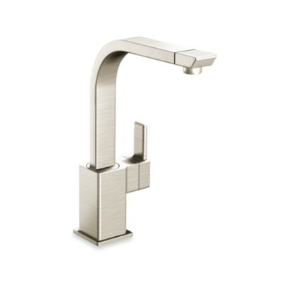Moen® 90 Degree™ One-Handle Kitchen Faucet instainless Steel