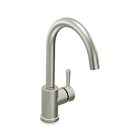 Moen® Level™ One-Handle Kitchen Faucet in Stainless Steel
