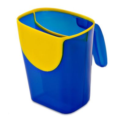 Shampoo Rinse Cup in Blue