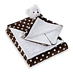 Pem America 2-Piece Boa Blanket Set - Chocolate