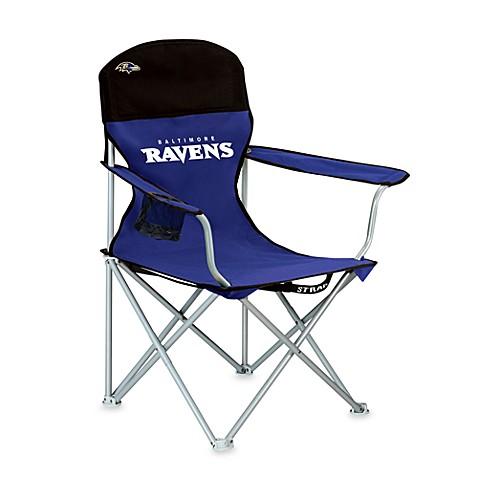 Nfl Baltimore Ravens Folding Beach Chair Bed Bath Amp Beyond