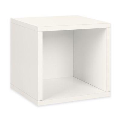 Organic White Storage Cubes