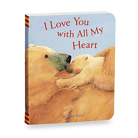 I Love You with All My Heart Book