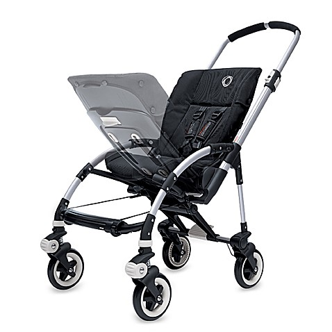 Bugaboo Bee Stroller Base in Black/Silver