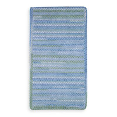 Sailor Boy Rectangle Sea Monster 2-Foot x 3-Foot Accent Rug in Deep Blue